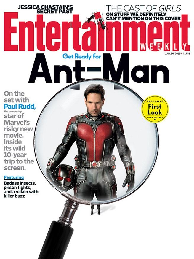 Ant-Man cover EW