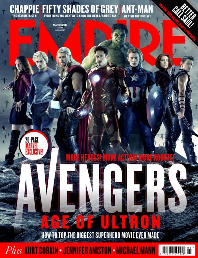 Avengers Age of Ultron cover Empire 01
