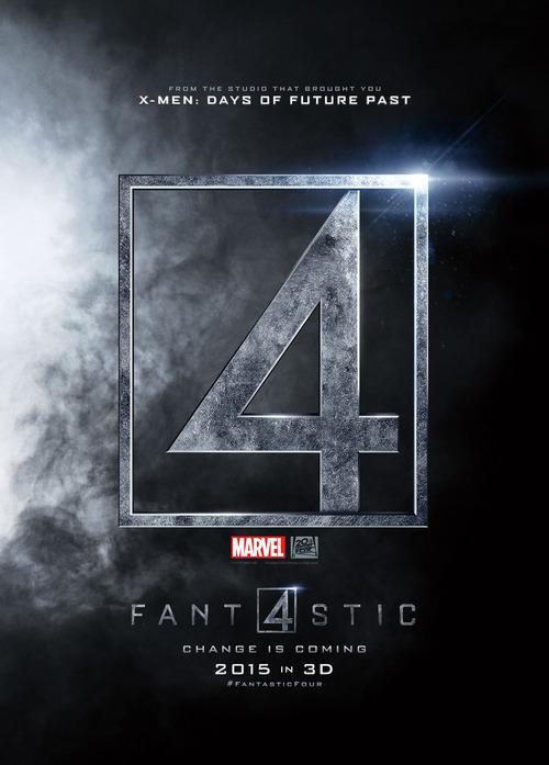 Fantastic Four affiche teaser