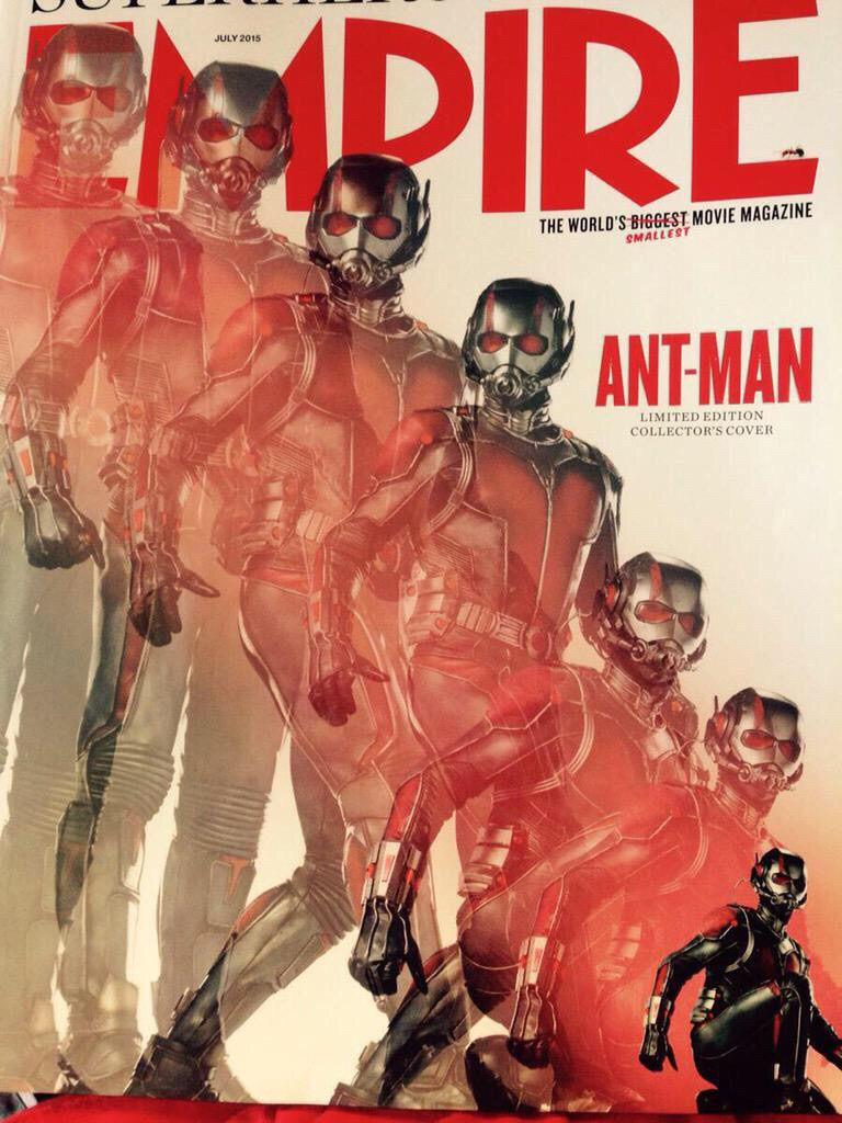 Ant-Man cover Empire