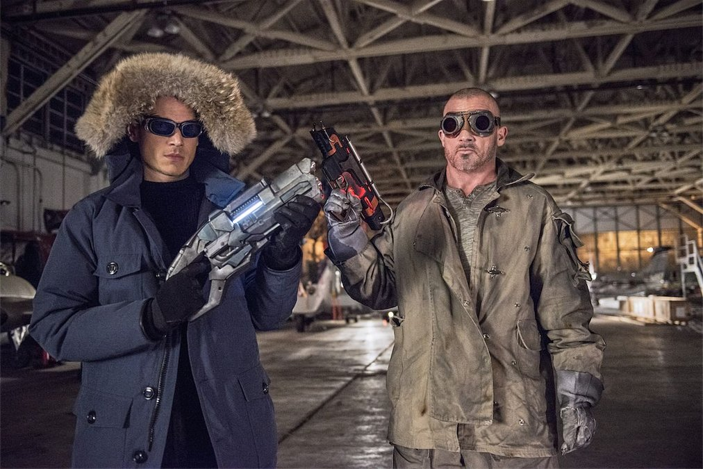 Captain Cold et Heatwave