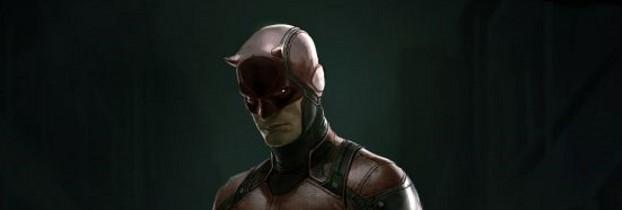 Concept art Daredevil costume