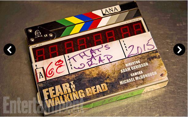 Fear The Walking Dead Behind the scene 5