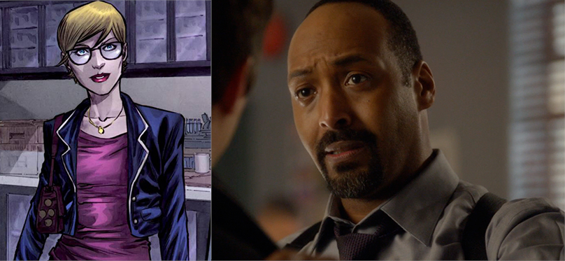 Katty Spivot Joe West The Flash