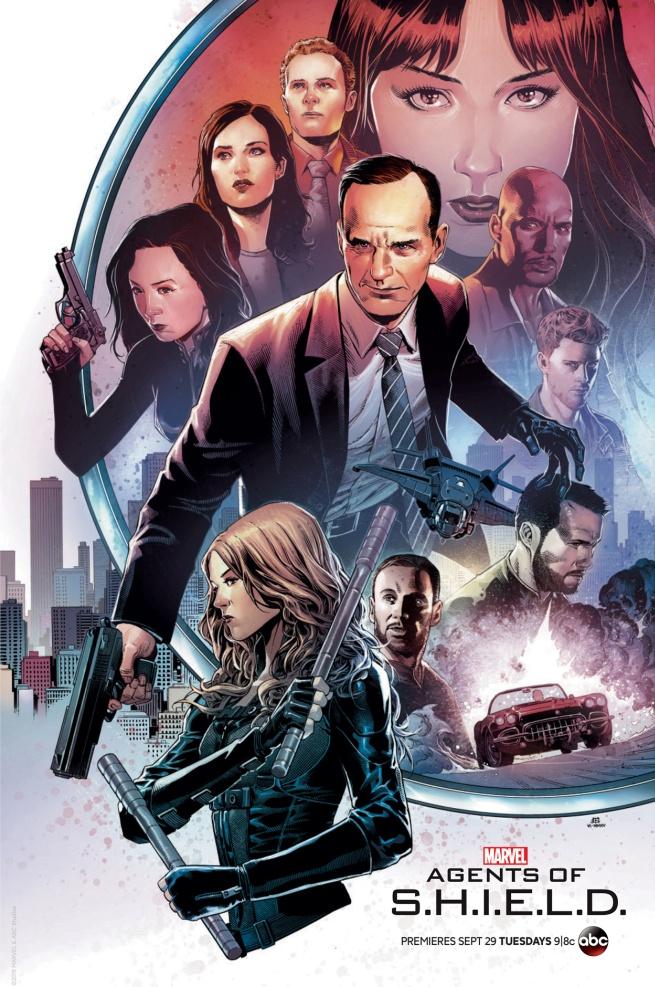 Agents of SHIELD Comic-Con season 3 poster