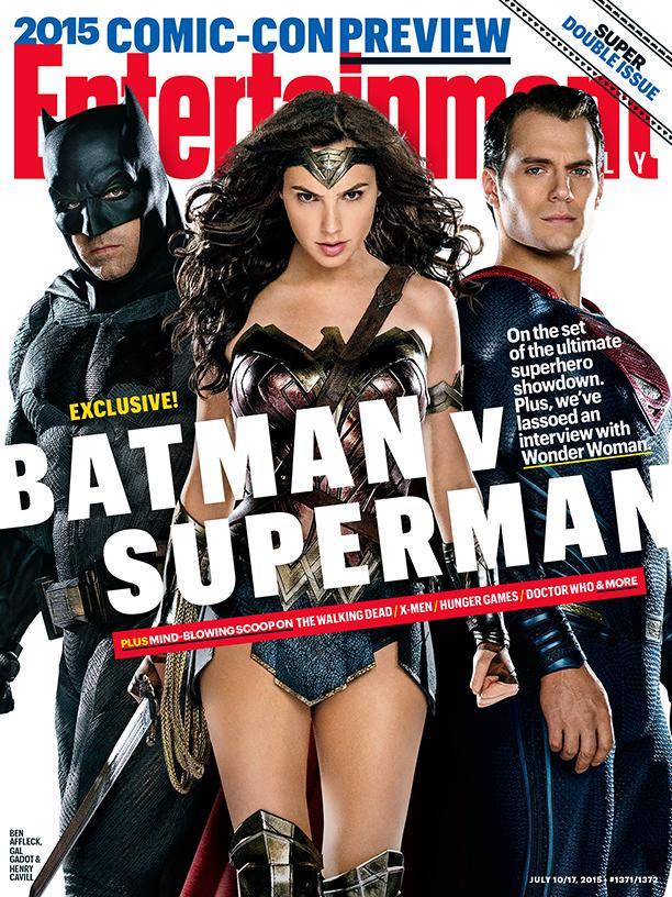 Batman v Superman cover EW