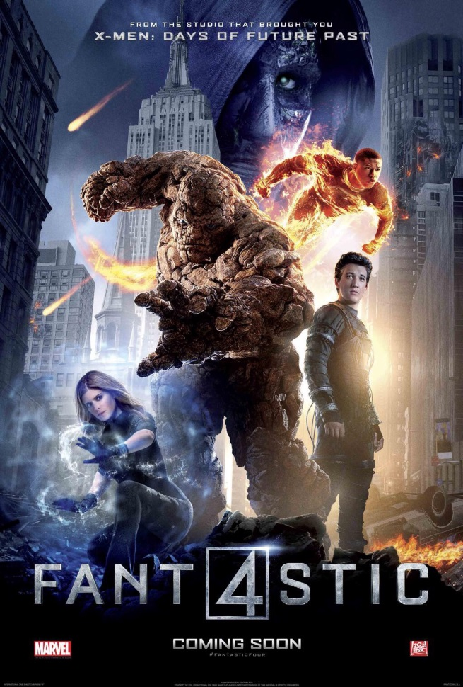 Fantastic Four International psoter