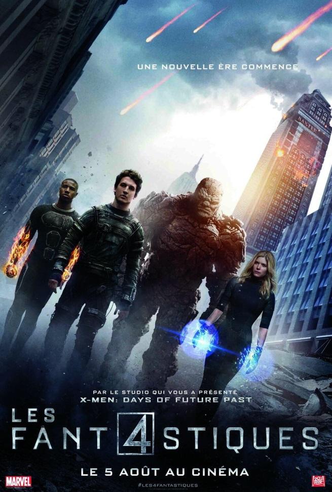 Fantastic Four affiche française 1
