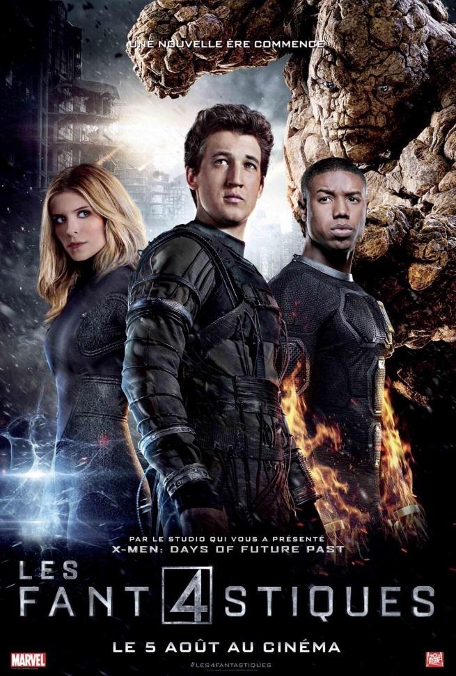Fantastic Four affiche française 2