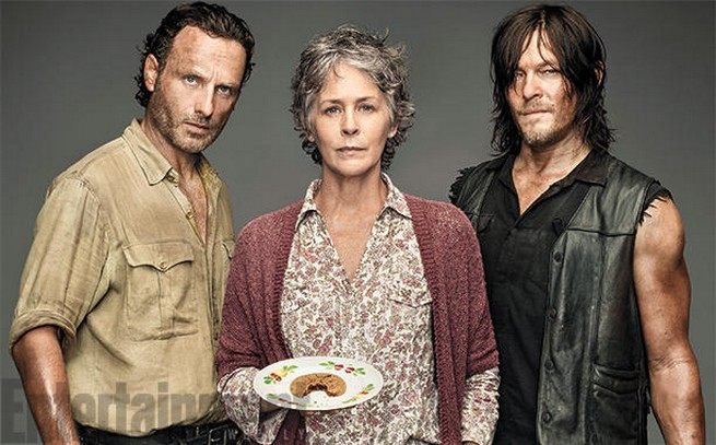 The Walking Dead EW cover header