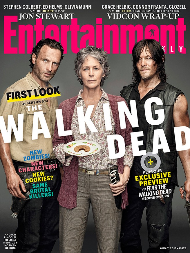 The Walking Dead EW cover