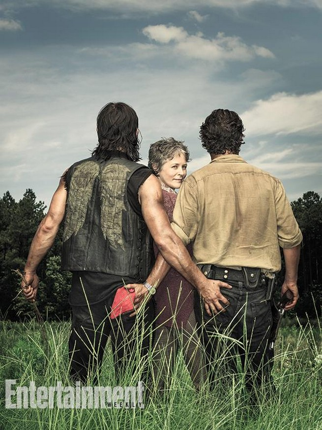 The Walking Dead Rick et Daryl