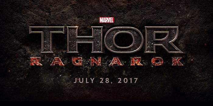 Thor Ragnarok logo