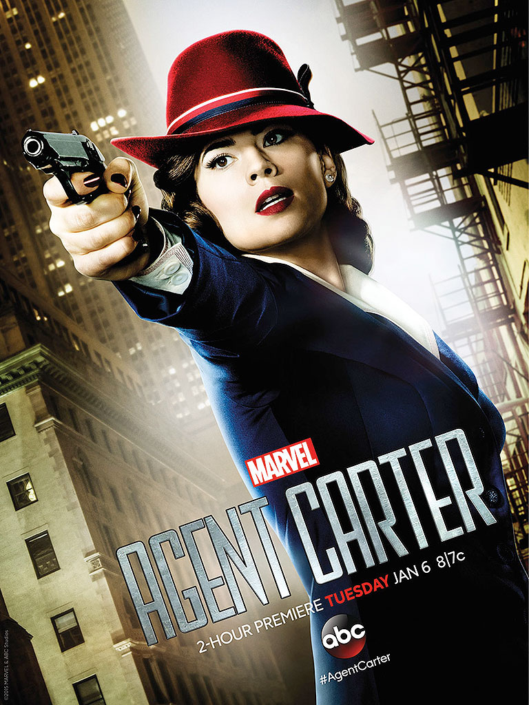 Agent Carter S01 poster
