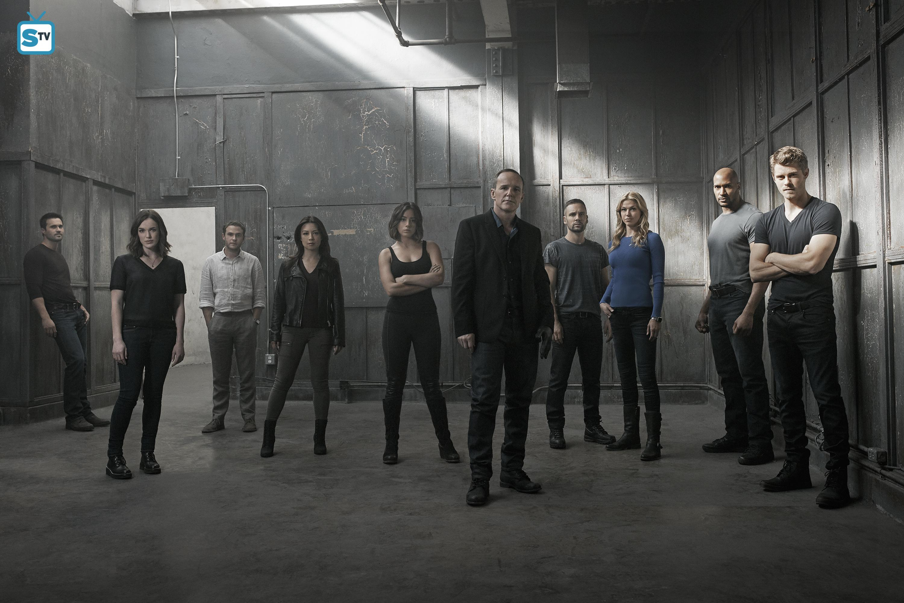 Agents of SHIELD S03 cast