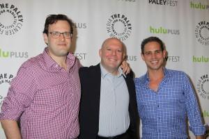 Andrew Kreisberg, Marc Guggenheim and Greg Berlanti