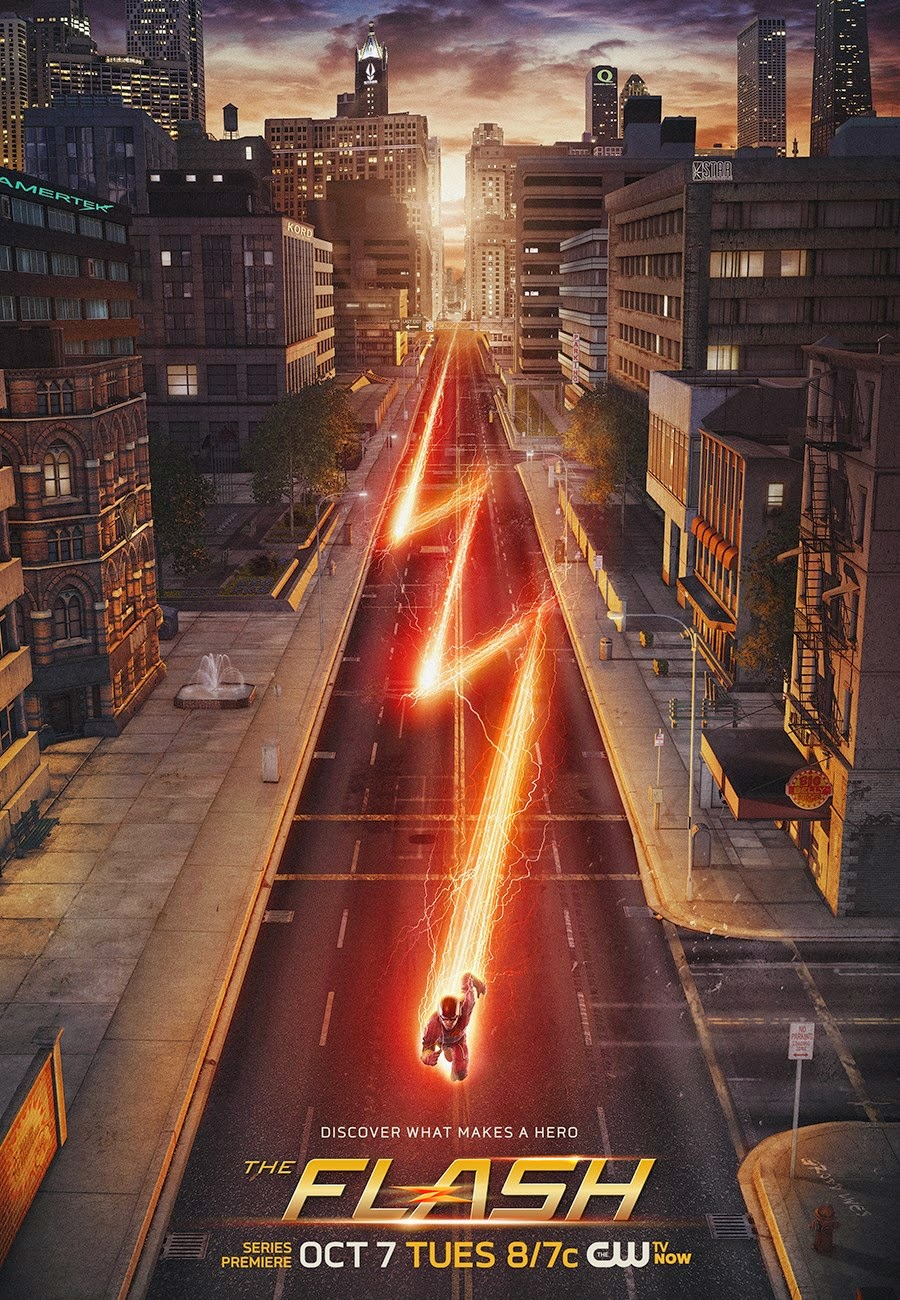 The Flash S01 poster