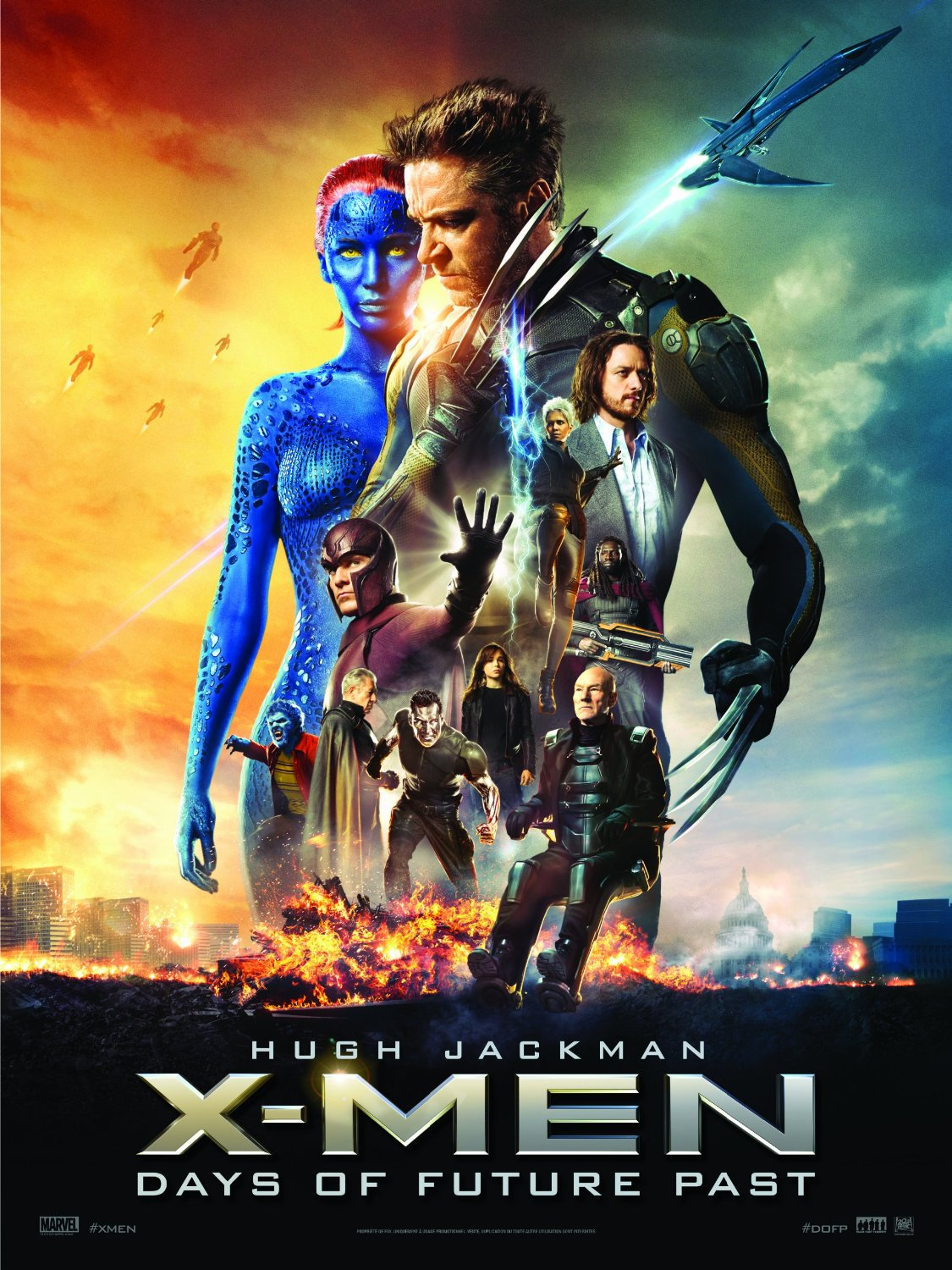 X-Men Days fo Future Past poster