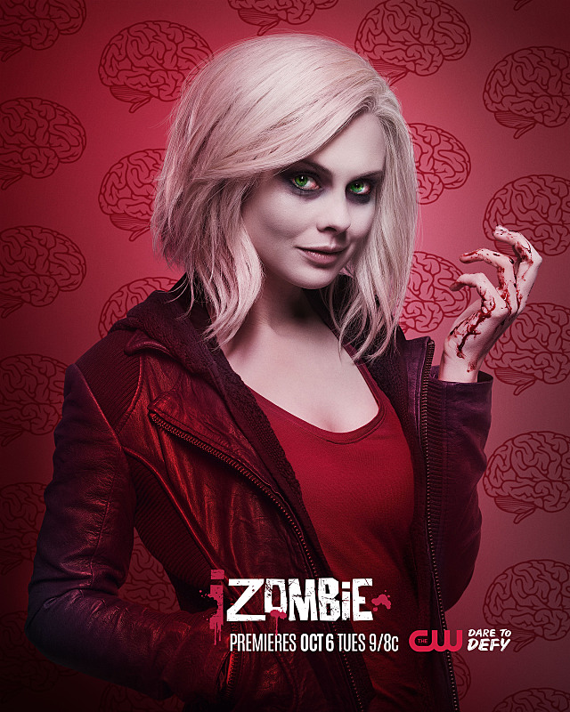 iZombie -- Image Number: ZMB2_Liv.jpg -- Pictured: Rose McIver as Liv -- Photo: © 2015 The CW Network, LLC. All rights reserved.