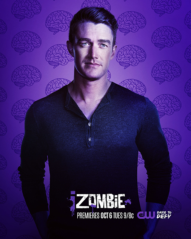 iZombie -- Image Number: ZMB2_Major.jpg -- Pictured: Robert Buckley as Major -- Photo: © 2015 The CW Network, LLC. All rights reserved.