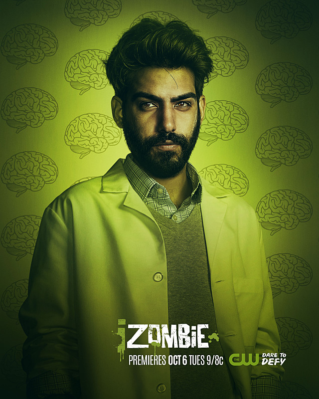 iZombie -- Image Number: ZMB2_Ravi.jpg -- Pictured: Rahul Kohli as Ravi -- Photo: © 2015 The CW Network, LLC. All rights reserved.