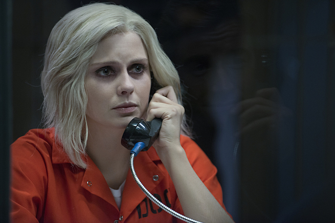 "iZombie -- ""The Hurt Stalker"" -- Image Number: ZMB208b_0306.jpg -- Pictured: Rose McIver as Liv -- Photo: Diyah Pera/The CW -- © 2015 The CW Network, LLC. All rights reserved."