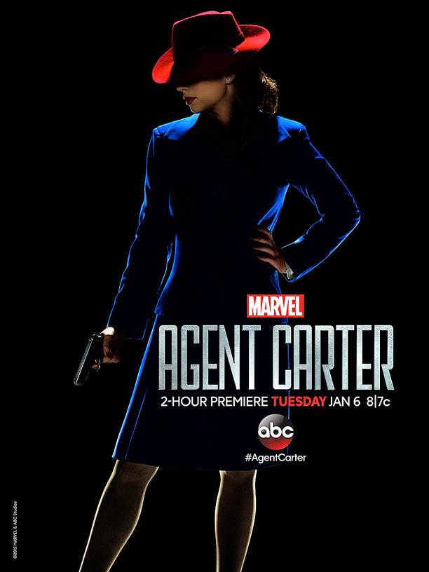 Agent Carter seaosn 1 poster