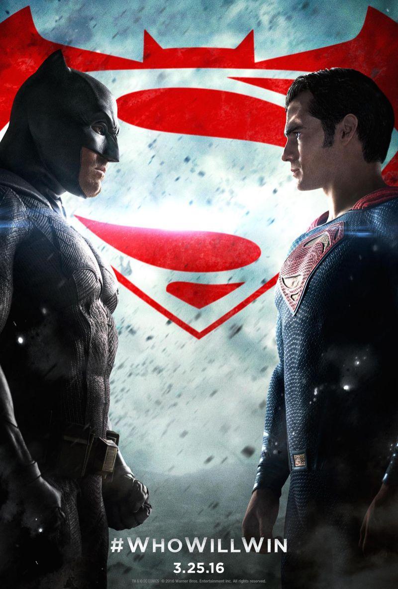 BatmanvSuperman - Who Will Win Poster