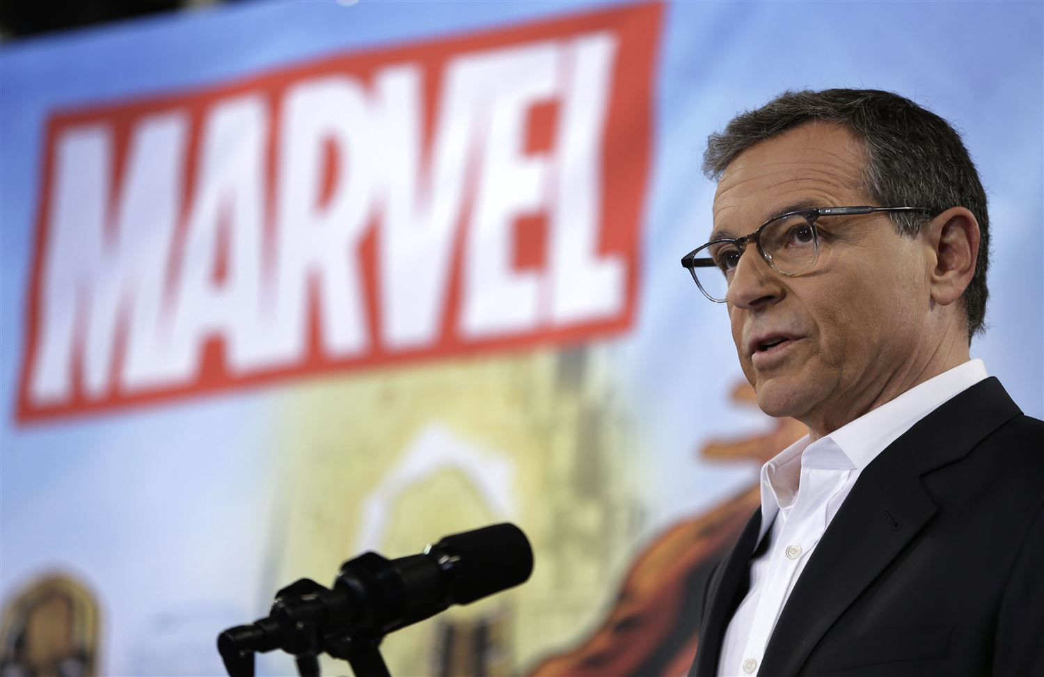 Bob Iger- Disney-Marvel