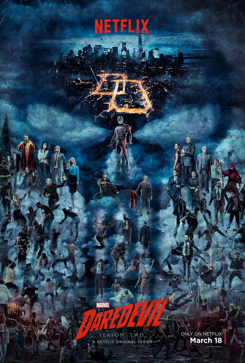 Daredevil Poster Season 2