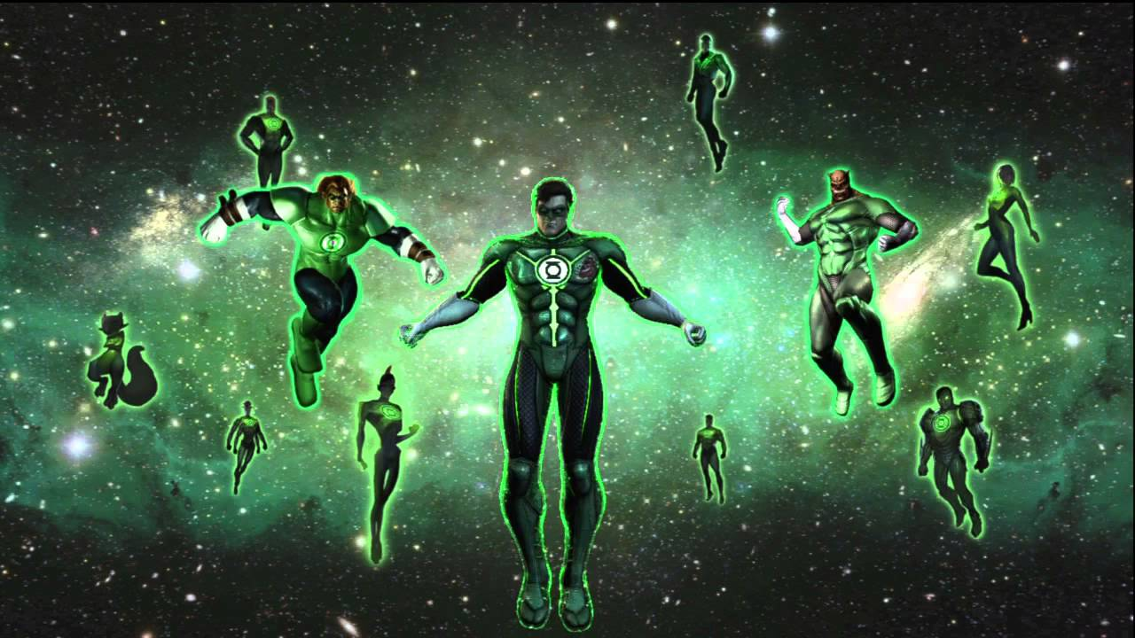 The Green Lantern Corps