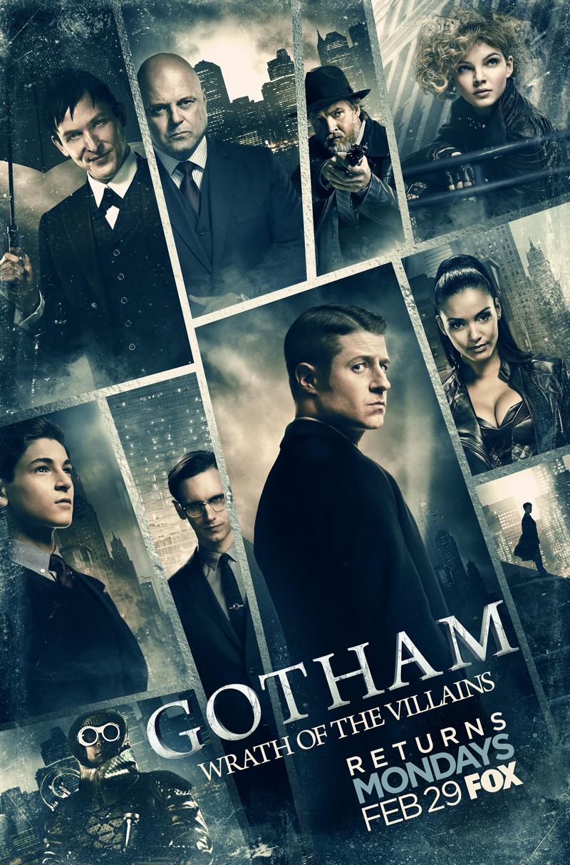 Gotham Wrath of the Villains Poster