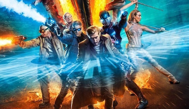 Legends fo Tomorrow Fight the Future psoter