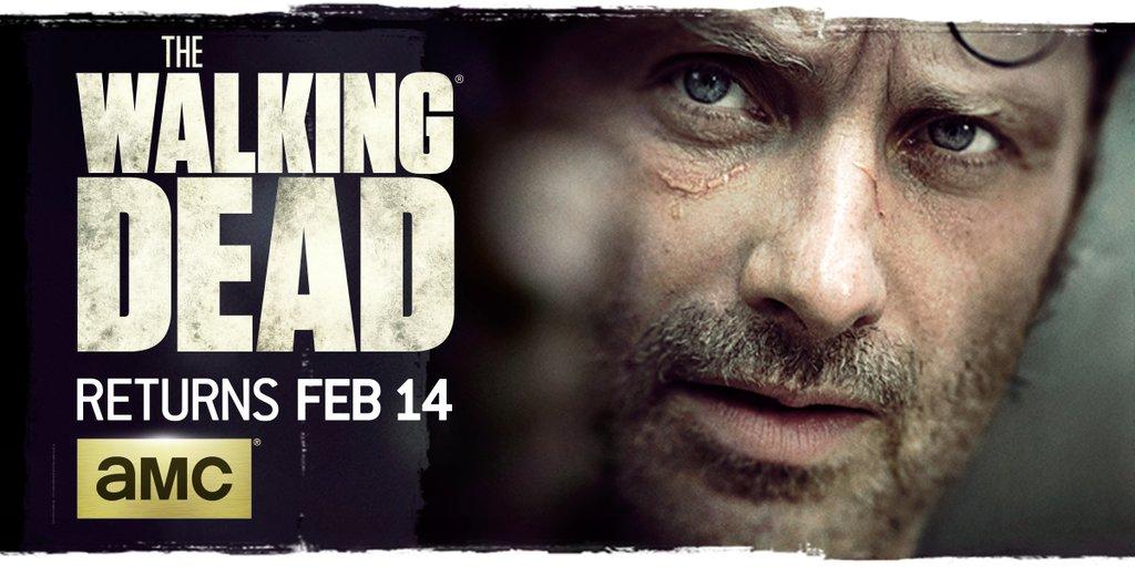 The Walking Dead pormo mid-season 6