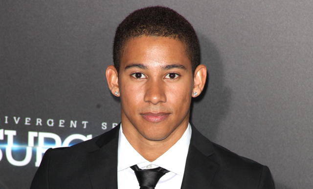 Premiere of 'The Divergent Series: Insurgent' held at the Ziegfeld Theatre - Arrivals  Featuring: Keiynan Lonsdale Where: New York City, New York, United States When: 16 Mar 2015 Credit: PNP/WENN.com