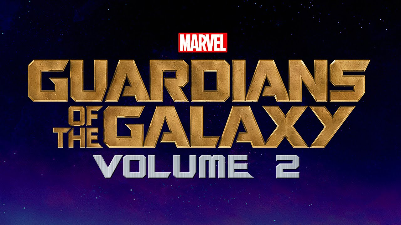 Guardians of  the Galaxy 2- logo marvel