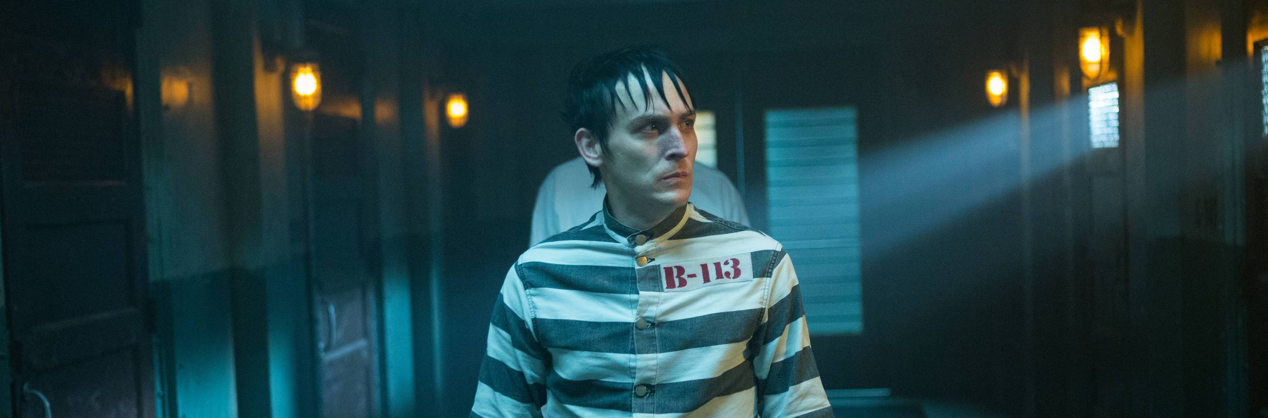 GOTHAM: Robin Lord Taylor in the ÒÒRise of the Villains: Mr. FreezeÓ  winter premiere episode of of GOTHAM airing Monday, Feb. 29 (8:00-9:01 PM ET/PT) on FOX.  ©2016 Fox Broadcasting Co. Cr: Jessica Miglio/ FOX