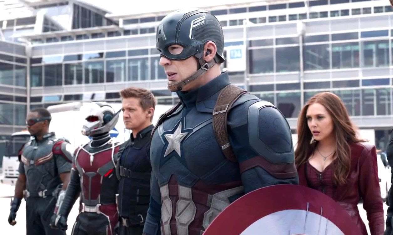 Captain america-Civil War- Team Cap
