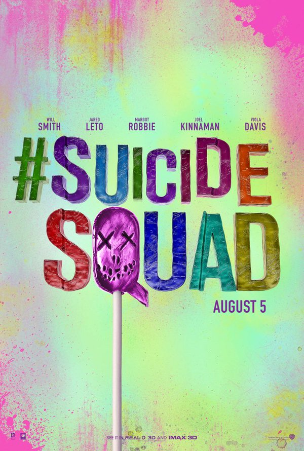 Suicide Squad - New Poster