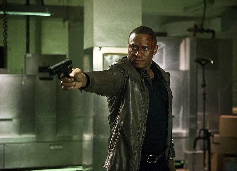 "Arrow -- ""Genesis"" -- Image AR420a_0338b.jpg -- Pictured: David Ramsey as John Diggle -- Photo: Diyah Pera/The CW -- © 2016 The CW Network, LLC. All Rights Reserved."