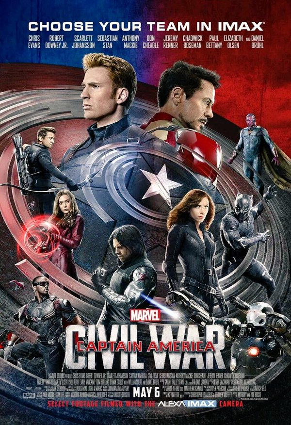 Civil war_Imax poster