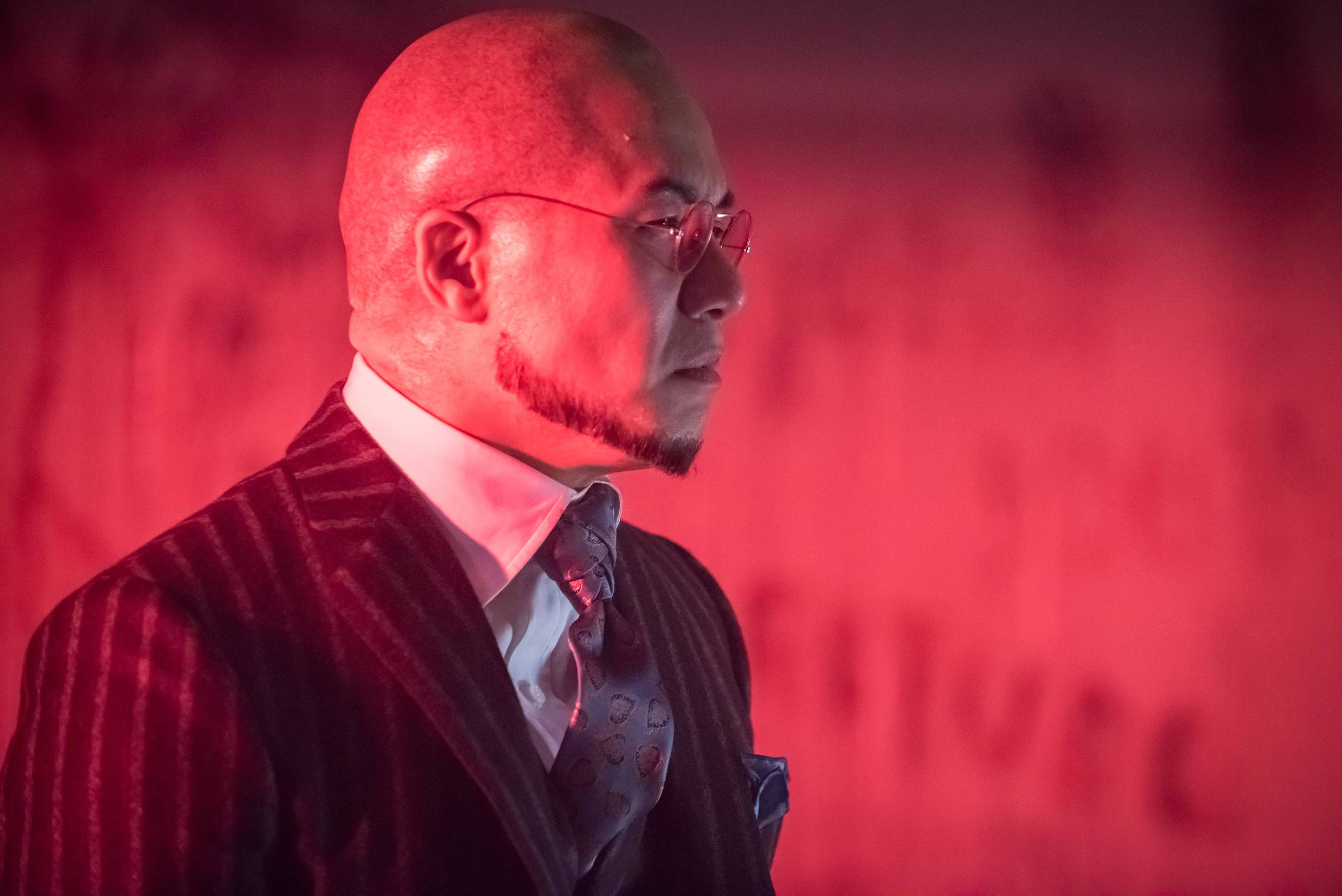 """GOTHAM:  BD Wong in the """"Wrath of the Villains: Azrael"""" episode of GOTHAM airing Monday, April, 25 (8:00-9:01 PM ET/PT) on FOX. ©2016 Fox Broadcasting Co. Cr: Jeff Neumann/FOX"""