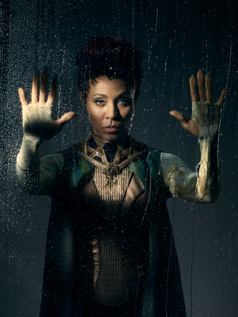 GOTHAM: Jada Pinkett Smith. Season 2 of GOTHAM premieres Monday, Sept. 19 (8:00-9:00 PM ET/PT) on FOX. ©2016 Fox Broadcasting Co. Cr: Kevin Lynch/FOX