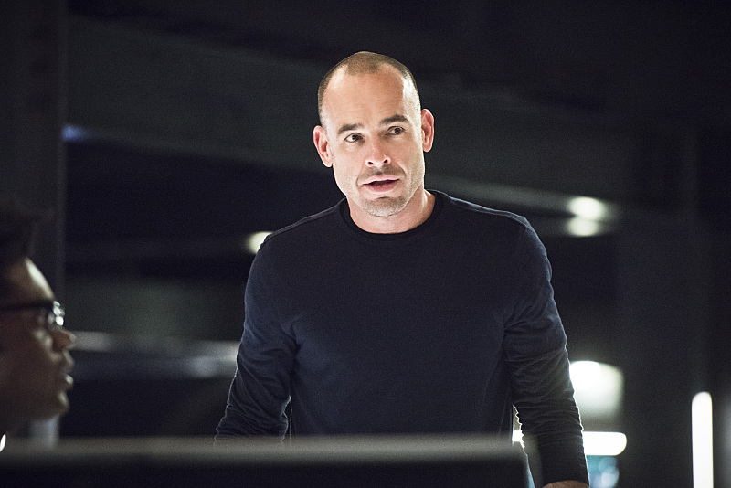 "Arrow -- ""Beacon of Hope"" -- Image AR417a_0446b.jpg -- Pictured: Paul Blackthorne as Detective Quentin Lance -- Photo: Dean Buscher/The CW -- © 2016 The CW Network, LLC. All Rights Reserved."