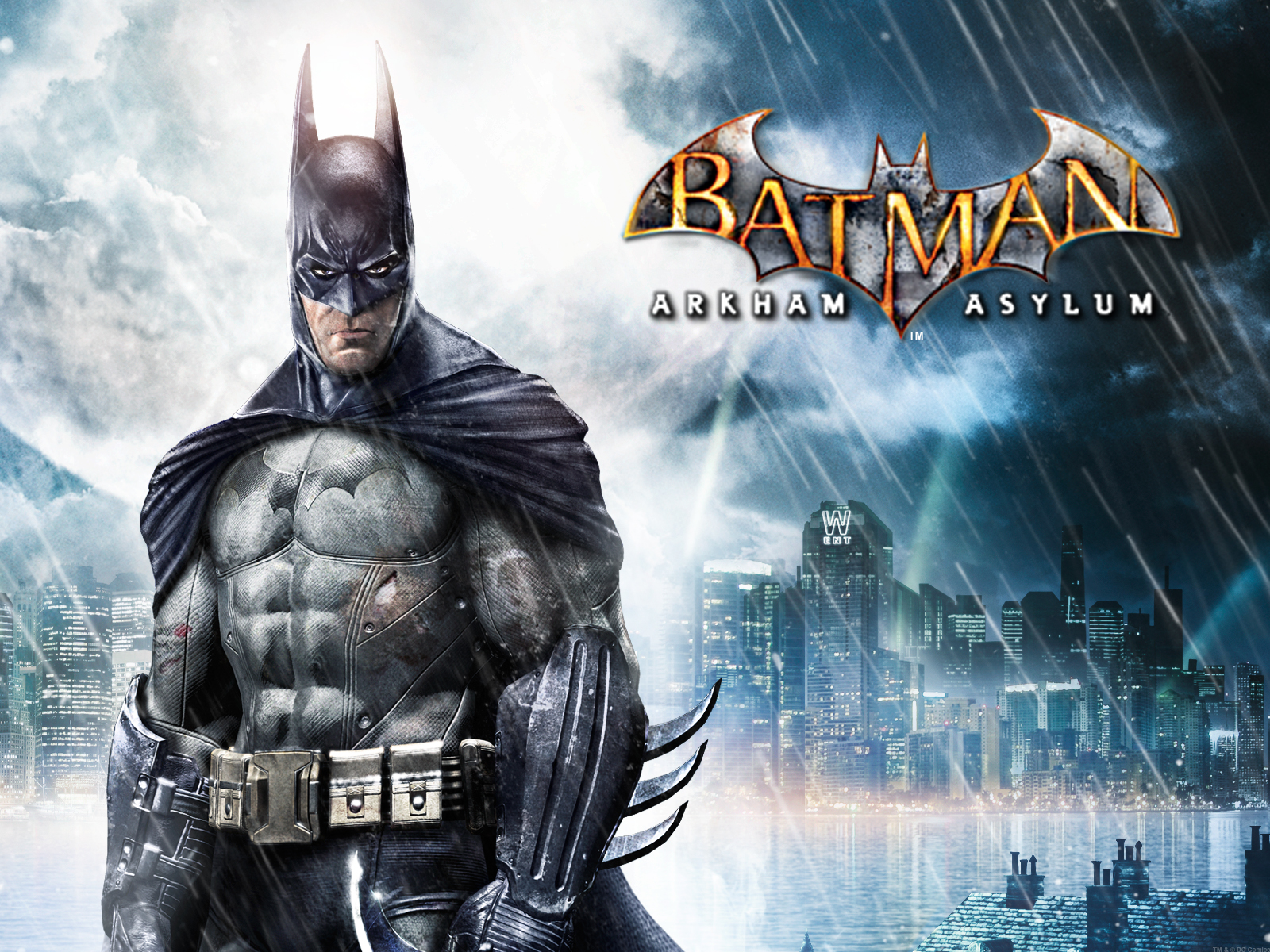 Batman Arkham Asylum Video Game