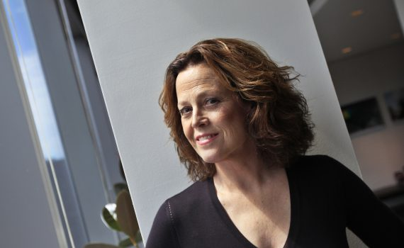 "Actress Sigourney Weaver poses for a portrait in New York July 10, 2012. The USA political drama ""Political Animals"" starring Weaver as a former first lady turned U.S. Secretary of State was one of five TV shows voted ""most exciting new series"" by the Broadcast Television Journalists Association (BTJA). Picture taken July 10, 2012. To match story TELEVISION-NEWSERIES/ REUTERS/Shannon Stapleton (UNITED STATES - Tags: ENTERTAINMENT PROFILE PORTRAIT MEDIA)"