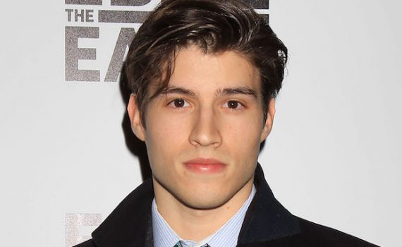Mandatory Credit: Photo by Dave Allocca/StarPix/REX/Shutterstock (5627163d) Cameron Cuffe 'Eddie the Eagle' film screening, New York, America - 02 Feb 2016