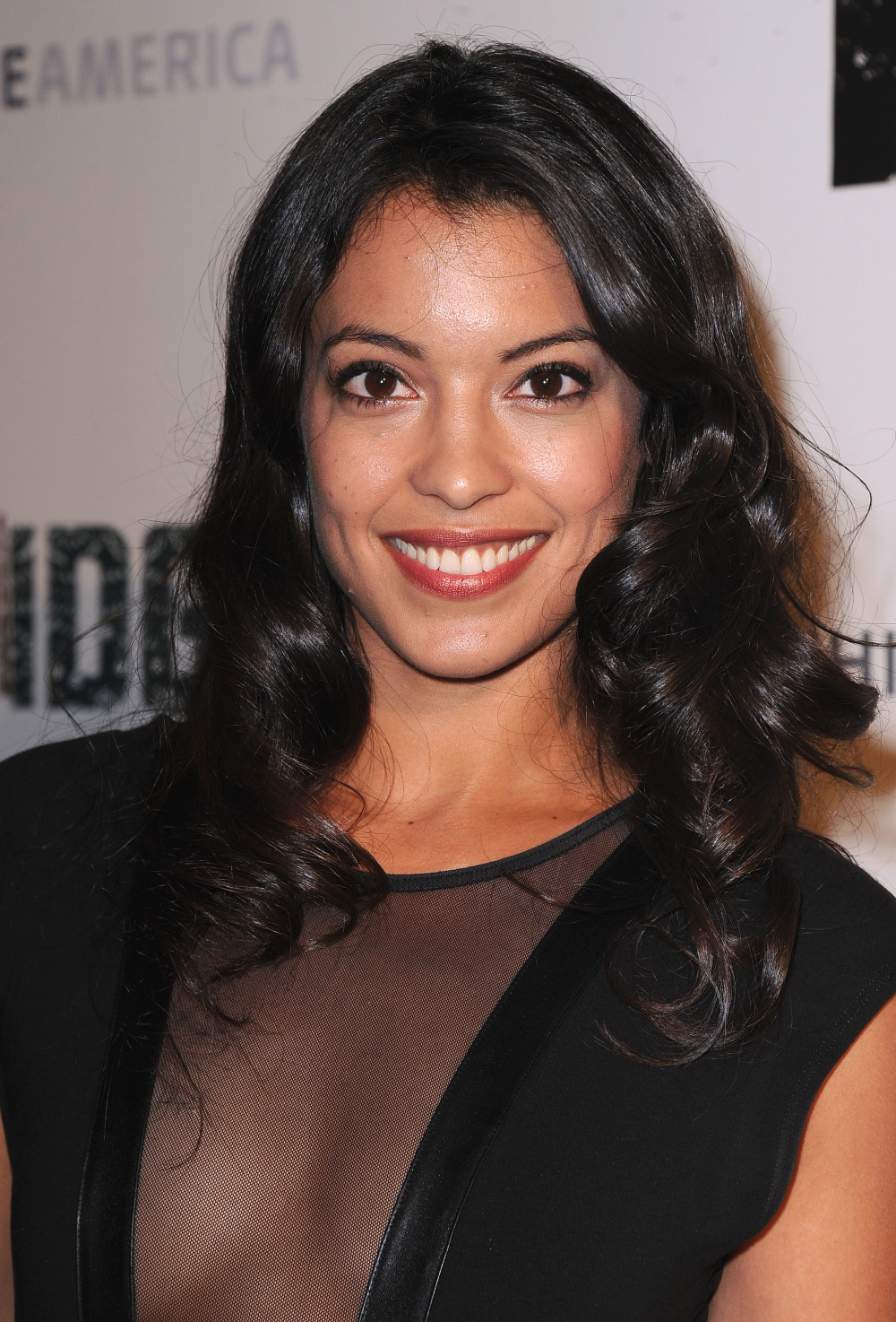 "Stephanie Sigman seen at FX's ""The Bridge"" Premiere, on Monday, July 8, 2013 in Los Angeles, CA. (Photo by Scott Kirkland/Invision for FX Network/AP Images)"