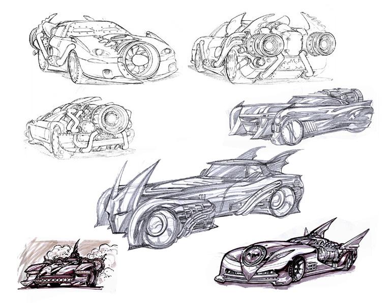Concept Art (Batmobile)