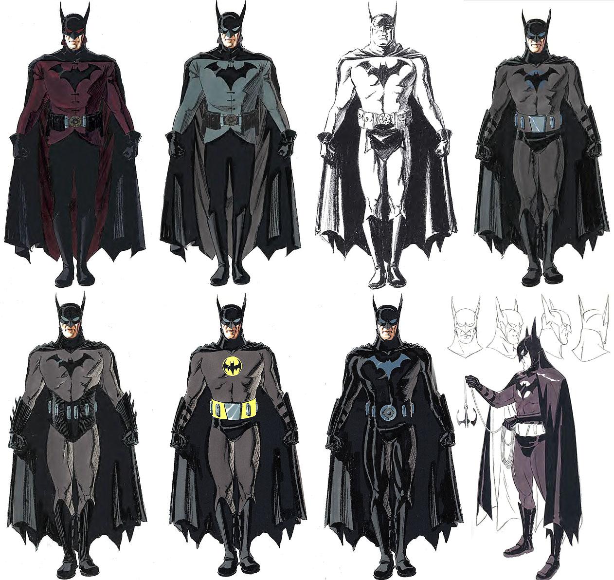 Concept art (Bat-suit)